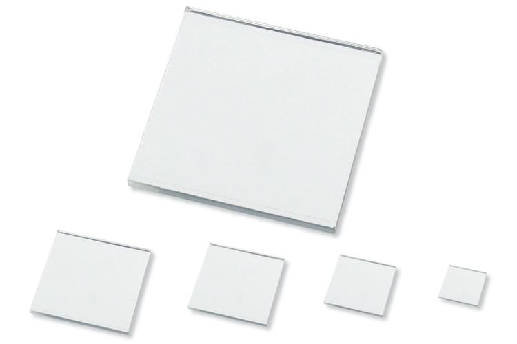 Set de 8 miroirs carr s auto adh sifs en acrylique for Miroir en acrylique
